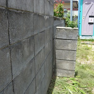 危険なブロック塀2