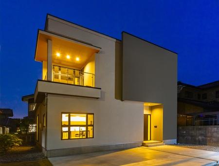 都会の高層マンションの1室のような…【飛騨高山の注文デザイン住宅】