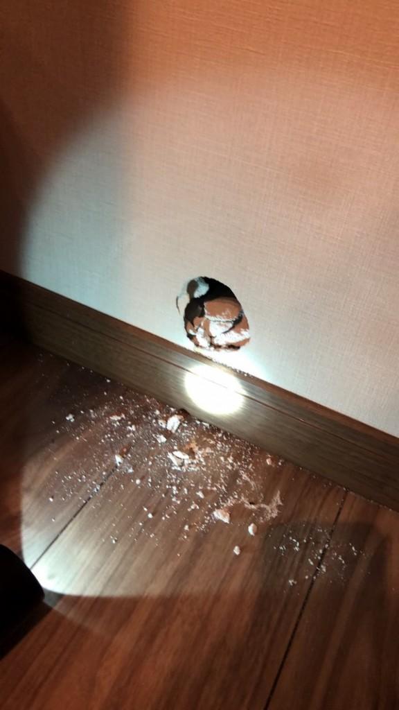 壁の穴【岐阜県の新築注文デザイン住宅】