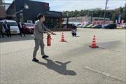 避難訓練【岐阜県の新築注文デザイン住宅】